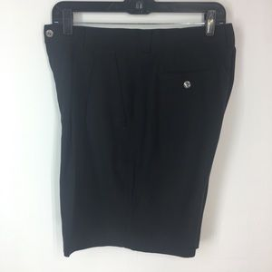 Tommy Bahama 100% silk black shorts
